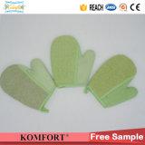 Gant Exfoliating de Bath de Softtextile de STATION THERMALE de mitaine de fibre en bambou