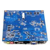 Placa madre industrial embutida tarjeta 8GB del PWB con 24bits Lvds