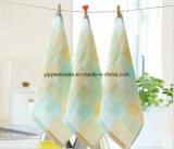 Panno Yarn-Dyed del Burp della mussola del cotone, tovagliolo del Burp