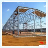 Estructura moderna del marco de acero para el taller