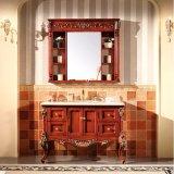 Самомоднейший шкаф ванны изделий твердой древесины краски санитарный (GSP14-009)