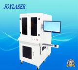 máquina de la marca del laser de la fibra del metal de la superficie curvada 3D