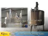 réservoir de mélange revêtu de mélange revêtu de bosse de réservoir de la vapeur 1000L