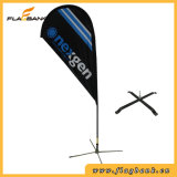 2.8m Advertizing Aluminium Digital Printing Teardrop Flag/Flying Flag
