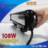 carro campo a través ligero de la luz 4WD del coche de barra del trabajo de 108W LED