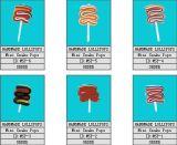 Caramelo duro animal de la mini historieta del diseño