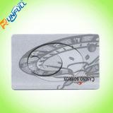 질 상점 또는 중심 사용 자석 줄무늬 서류상 카드