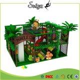 ジャングルの体操の主題の子供の屋内運動場小さい遊び場