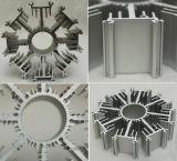 Disipador de calor de aluminio extruido con taladrado y roscado