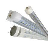 60W 8FT LEDの管の照明設備Vの形ULのcULの日光T8 LEDの管270度のビーム角