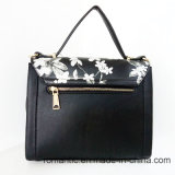 Sacchetto di stampa del fiore delle borse dell'unità di elaborazione delle signore di disegno di marca (LY060281)