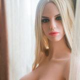 Muñeca grande grande europea del sexo del asno de la cara el 152cm Brast