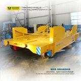 Veículo liso motorizado de transferência do trilho da baixa tensão de uma capacidade de 80 toneladas
