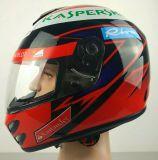 Casco de la cara llena para la motocicleta y Dirbike con el DOT / Ce aprobado