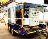 Unità montata rimorchio continuo di depurazione di olio del trasformatore (ZYM)