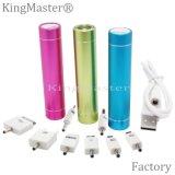 La Banca circolare 2200mAh di potere del tubo di Kingmaster LED|2600mAh
