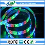 A luz de tira SMD3528 do diodo emissor de luz do RGB 3M grava a luz do parque de diversões