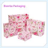 Изготовленный на заказ выдвиженческий напечатанный бумажный мешок подарка для упаковки