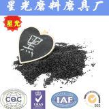 Les graines noires d'abrasifs d'oxyde d'aluminium de soufflage de sable réfractaires