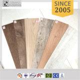 PVC épais de 3mm parquetant la planche en bois de vinyle de PVC des graines