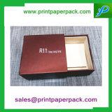 Cadre de empaquetage fait sur commande de bijou de cadre de boîte-cadeau de tiroir de carton et de bijou de mémoire de sac de cadeau cosmétique de cadre