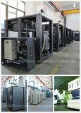 courroie de refroidissement à l'air 10HP (7.5KW) pilotant le compresseur d'air industriel de vis