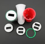 Снабжение жилищем 1 или самого нового вспомогательного оборудования портативное пластичное Port снабжение жилищем заряжателя автомобиля сотового телефона USB 2
