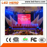 Visualización de LED de alquiler de interior del último producto SMD P2.976mm del Llevar-Héroe