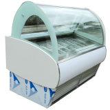 Popsicle di /Ice della visualizzazione della vetrina di Gelato/congelatore crema gelato