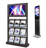 Indicador digital del panel del quiosco de periódico de 19 pulgadas LED que hace publicidad de la señalización de Digitaces del vídeo