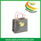 Подгонянная хозяйственная сумка войлока для промотирования