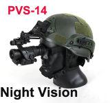 27-0008 optische Monocular van het Gezicht van de Visie van Nacht pvs-14 van het Werkingsgebied Infrarode