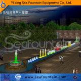 Éclairage LED en bois de fontaine de musique de module décoratif
