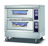 Cuisine électrique de four de Deux-Plateaux de double couche avec construit dans la boulangerie
