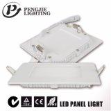 luz de painel do diodo emissor de luz 9W para a iluminação de teto dos hotéis com CE