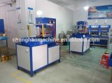 2016 marca di Chenghao, saldatrice pneumatica del PVC di alta frequenza 8kw tre della tavola rotonda automatica della stazione di lavoro per l'imballaggio della bolla