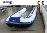 Pavimento di alluminio, catamarano gonfiabile brandnew dell'offerta del battello pneumatico (FWS-D480)