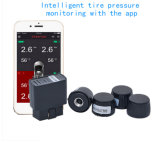 Android 4 Wheel Tire Pressure Temperature Monitor TPMS Sensores Externos