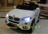 BMW 백색 색깔 원격 제어 아이 차 전차