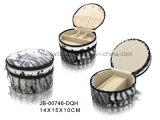 materieller kleiner Schmucksache-Kasten Förderung Geschenk-Form-Entwurfbrown-Croco