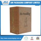 Бумажные упаковывая косметики палитры Eyeshadow коробки книги Clamshell упаковывая оптом