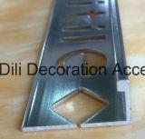 Gli accessori della pavimentazione stringono il bordo rotondo quarto di angolo di transizione delle mattonelle