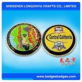 Moneta su ordinazione del metallo di sfida con 4-6 colori