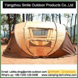 Временно водоустойчивый напольный располагаться лагерем хлопает вверх шатер собственной личности складывая