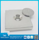 Magneet van uitstekende kwaliteit van de Basis van het Neodymium van de Zeldzame aarde de Permanente