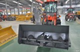 Cargador mini Radlader de Eougem cargador de la rueda del compacto de 1.2 toneladas