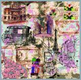 Горячее надувательство печатает шарф способа женщин (F13-0067)