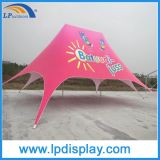 12X17m Outdoor Double Pole Beach Star Shade Tent para festa