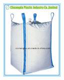 Grande sacchetto enorme bianco del contenitore tessuto pp