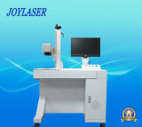 Máquina de fibra óptica de la marca del laser para los productos de metal